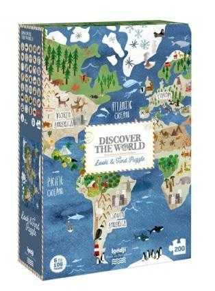 Puzzle descopera lumea londji