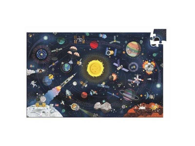 Puzzle observatie cosmos djeco