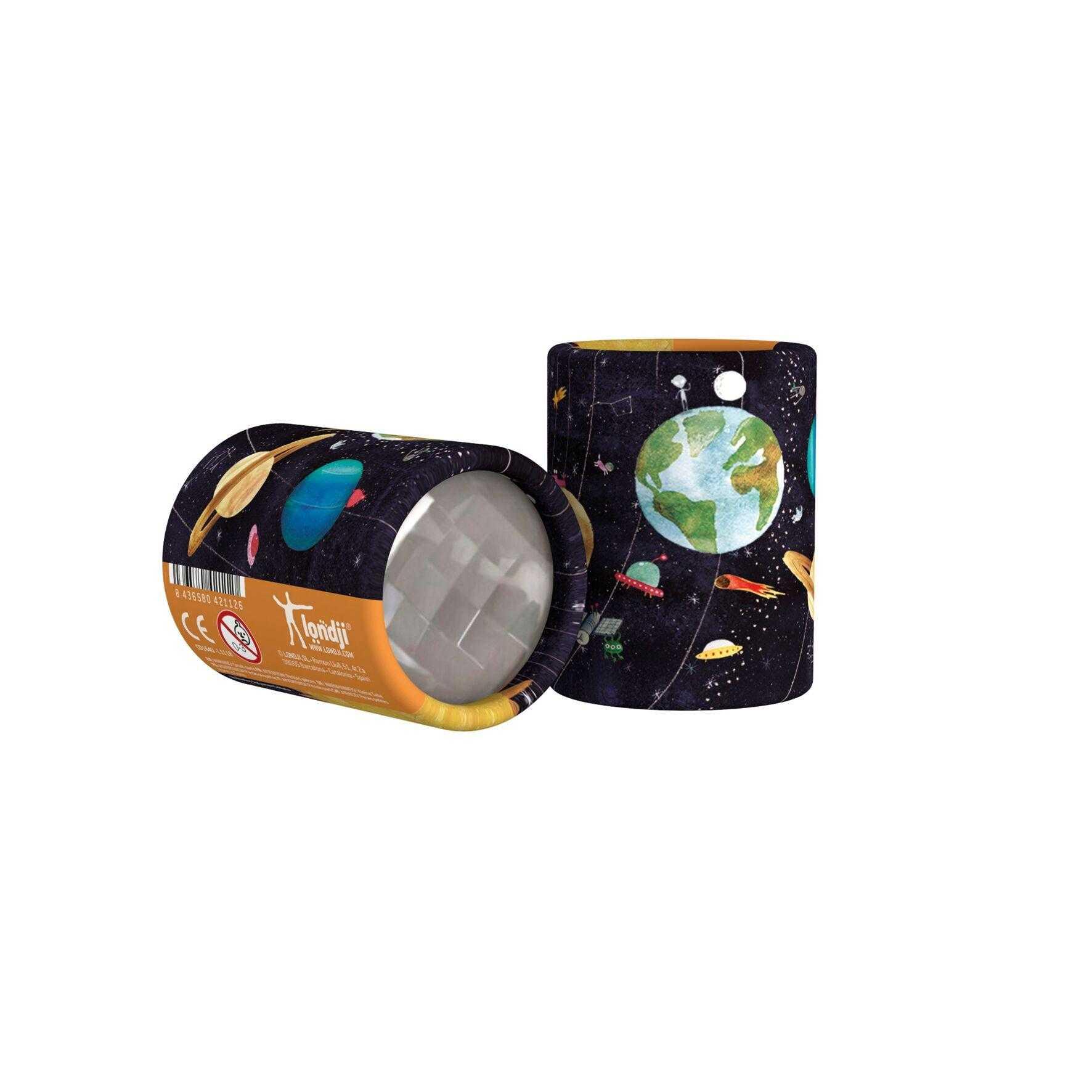 Mini caleidoscop cu planete londji