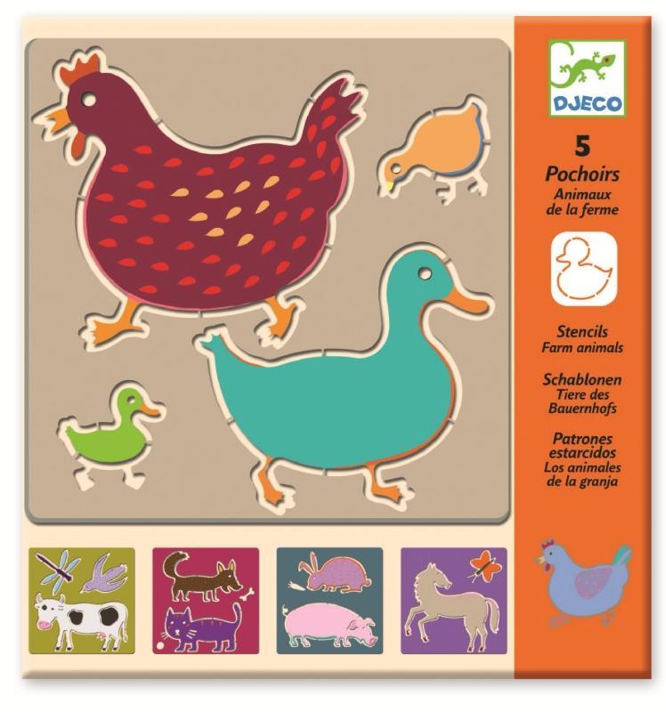 Sabloane desen animale domestice djeco imagine