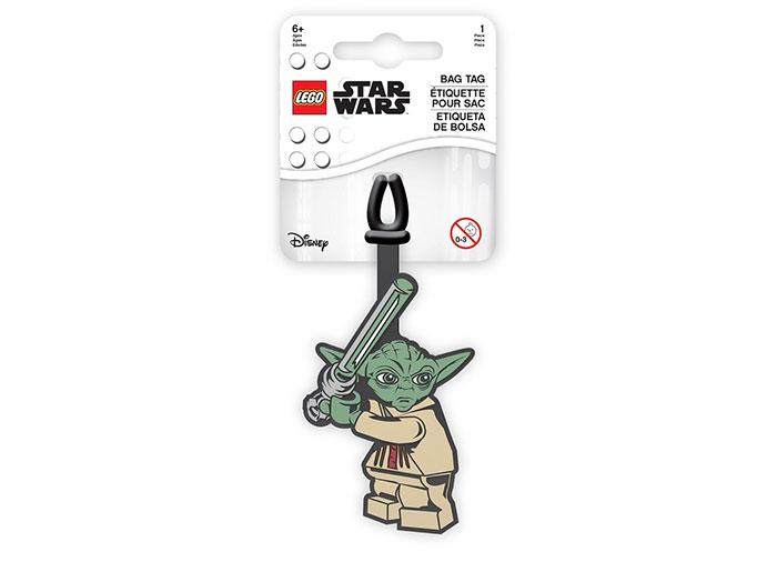 Eticheta bagaje lego star wars yoda