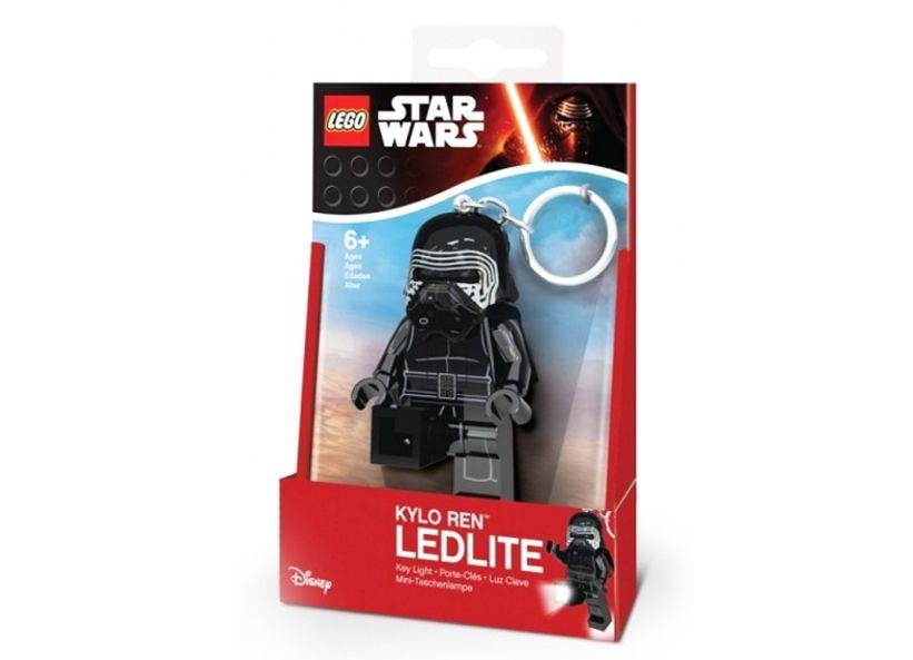Breloc cu lanterna lego star wars kylo ren imagine