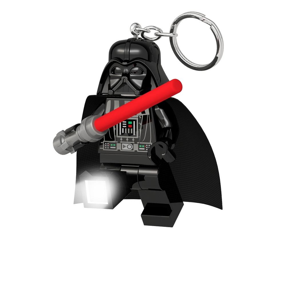 Breloc cu lanterna lego star wars darth vader cu sabie laser imagine