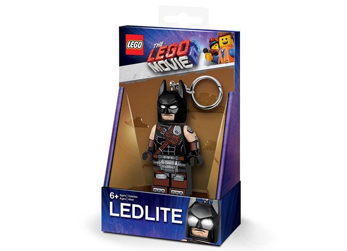 Breloc cu lanterna lego movie 2 batman imagine