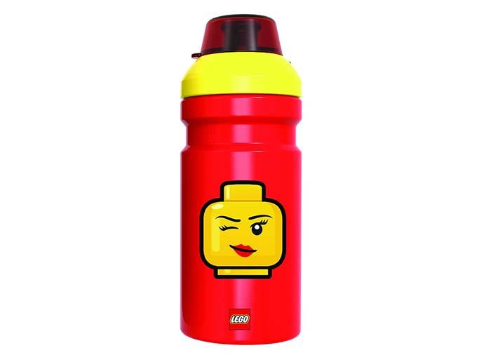 Sticla lego iconic rosu galben imagine