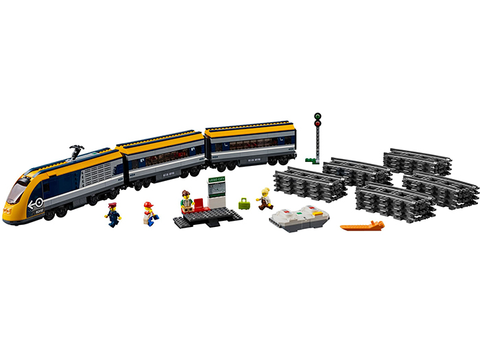 Tren de calatori lego city