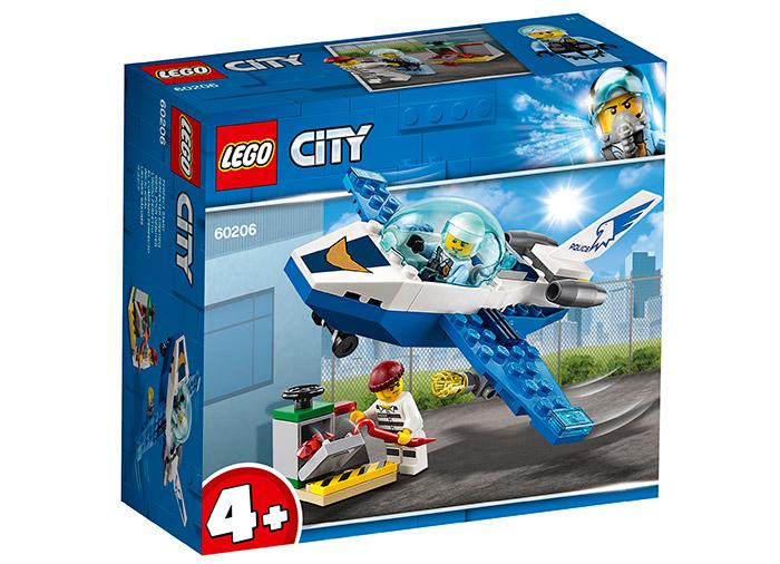 Avionul politiei aeriene lego city