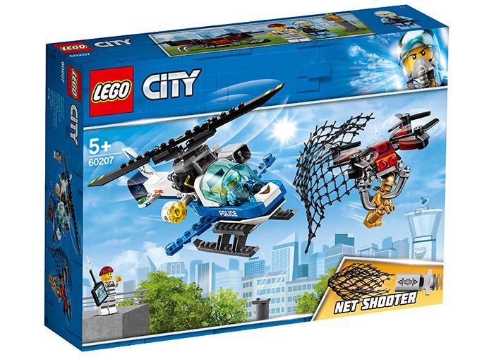 Urmarirea cu drona a politiei aeriene lego city