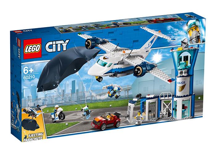 Baza politiei aeriene lego city