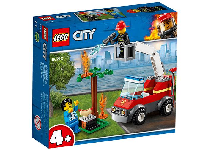 Stingerea incendiului de la gratar lego city