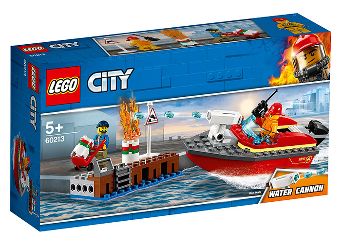 Incendiul de la docuri lego city