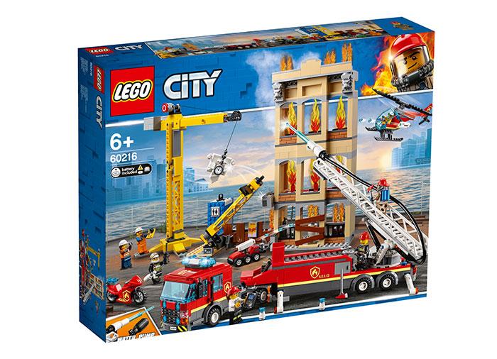 Divizia pompierilor din centrul orasului lego city
