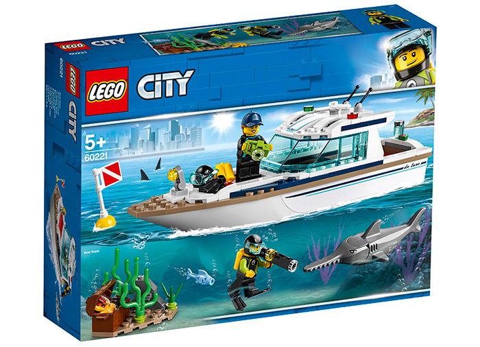 Iaht pentru scufundari lego city