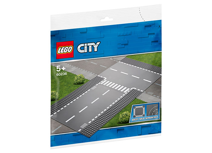 Intersectie dreapta si in t lego city