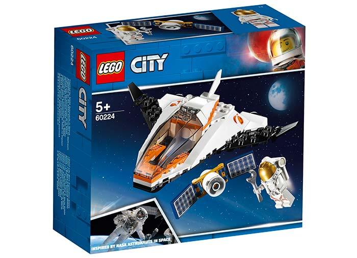 Misiune de reparat sateliti lego city