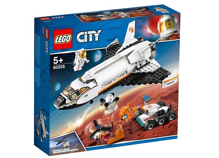 Naveta de cercetare a planetei marte lego city