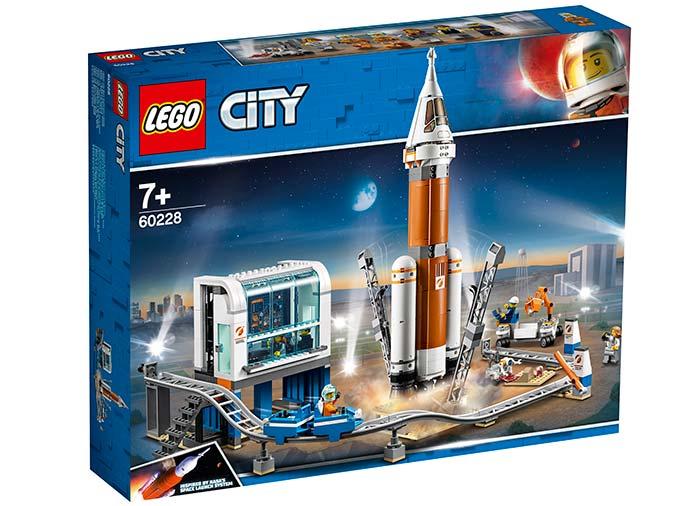 Racheta pentru spatiul indepartat si centrul de comanda lego city