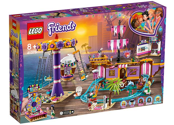 Debarcaderul cu distractii din heartlake city lego friends