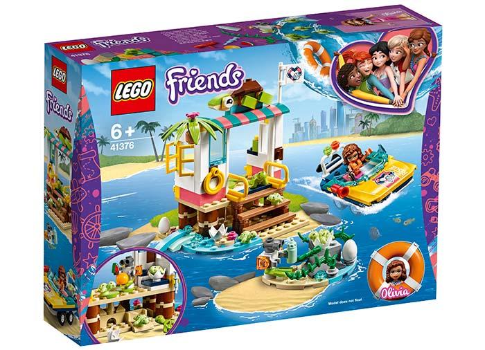 Misiunea de salvare a testoaselor lego friends