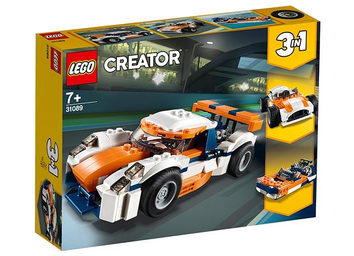 Masina de curse sunset lego creator