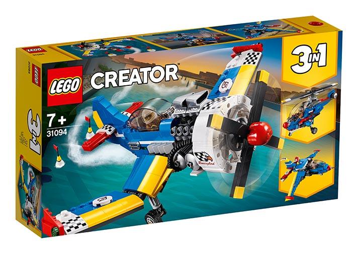Avion de curse lego creator