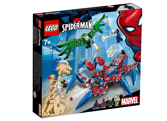 Vehiculul lui spider man lego marvel super heroes