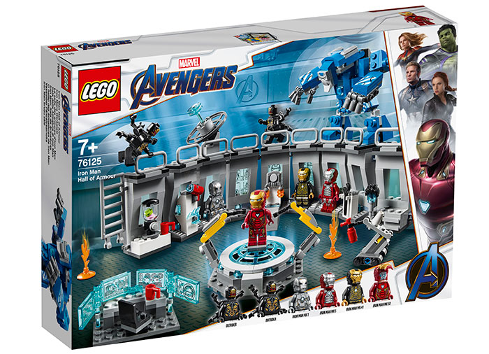 Iron man sala armurilor lego marvel super heroes