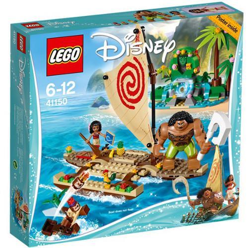 Vaiana si calatoria ei pe ocean lego disney princess imagine
