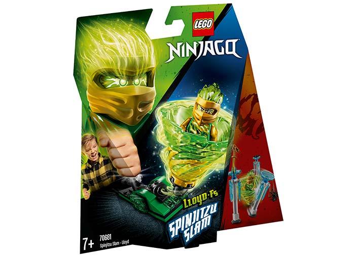 Slam spinjitzu lloyd lego ninjago