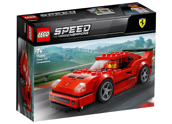 Ferrari f40 competizione lego speed champions