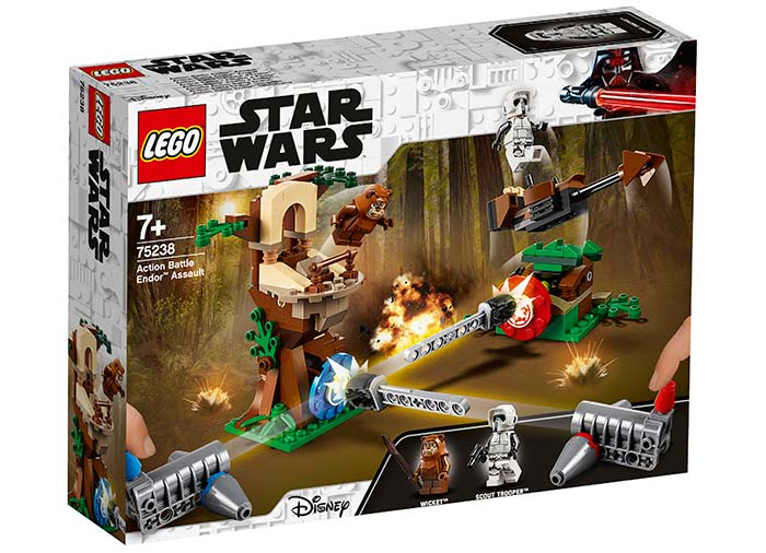 Atacul action battle endor lego star wars