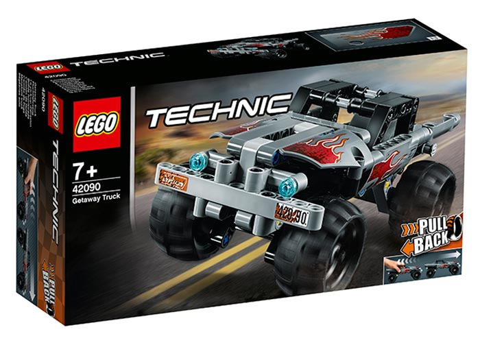 Camion de evadare lego technic