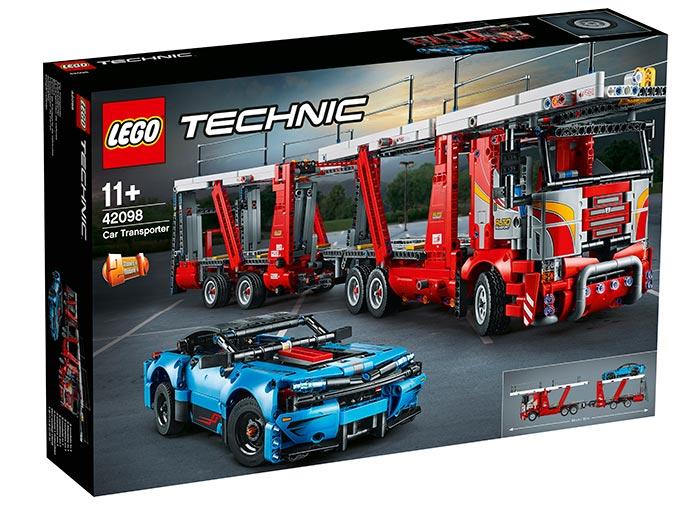 Transportor de masini lego technic