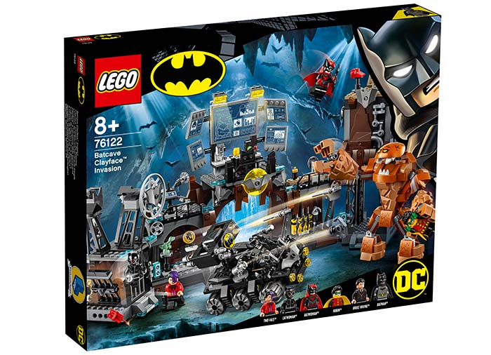 Invazia lui clayface in batcave lego dc super heroes