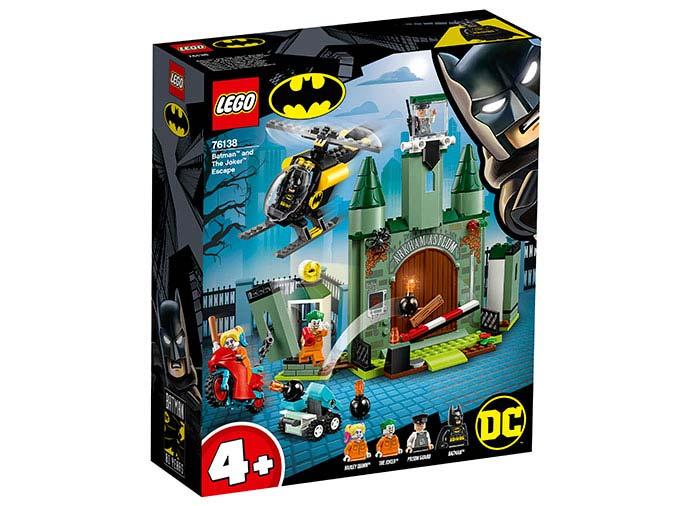Batman si fuga lui joker lego dc super heroes