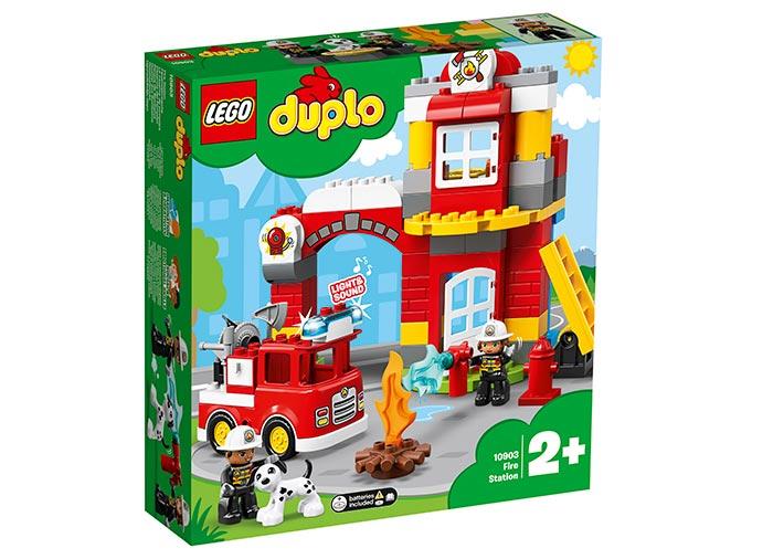 Statie de pompieri lego duplo