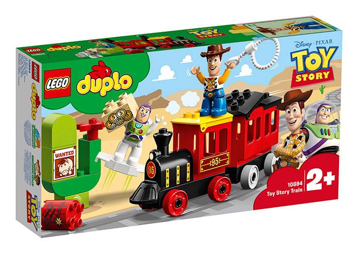 Trenul toy story lego duplo