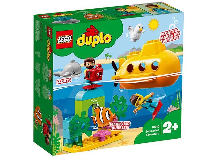 Aventura cu submarinul lego duplo