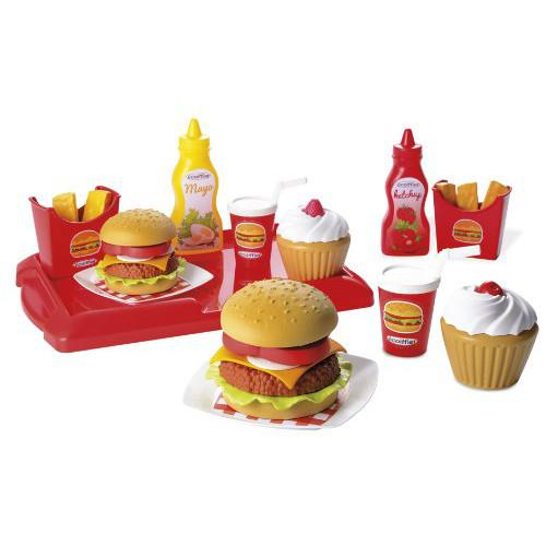 Set de hamburgeri ecoiffier imagine