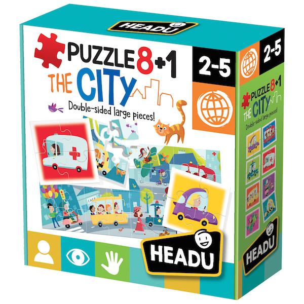 Puzzle cu doua fete oras 8+1 headu