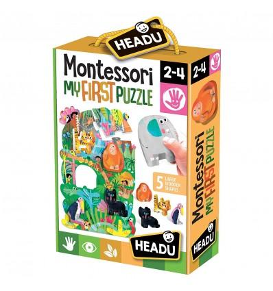 Montessori primul meu puzzle jungla headu
