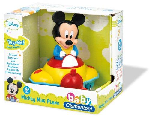 Avion muzical mickey mouse clementoni imagine