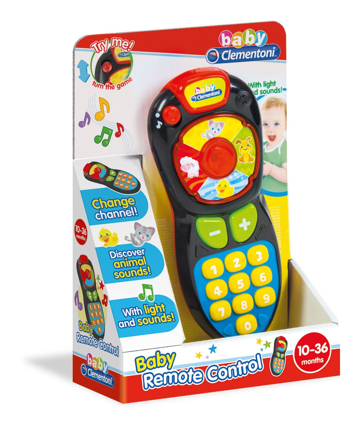 Telecomanda interactiva copii clementoni