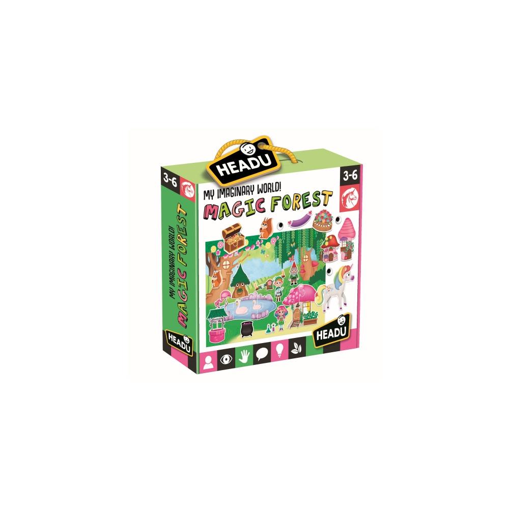 Joc puzzle padurea fermecata headu