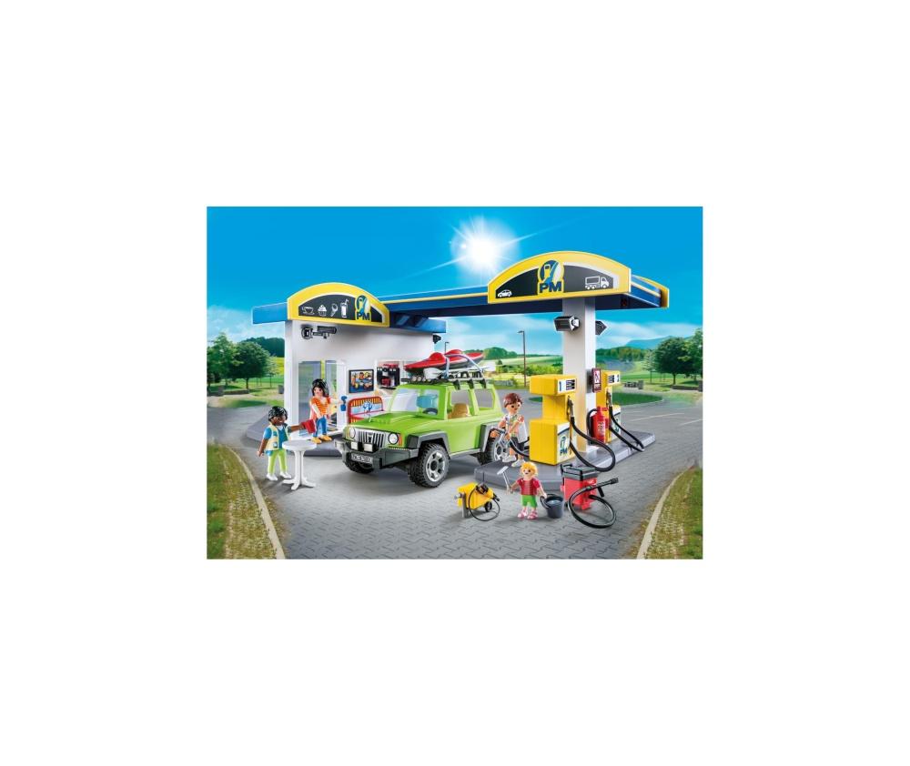 Benzinarie playmobil city life - 2
