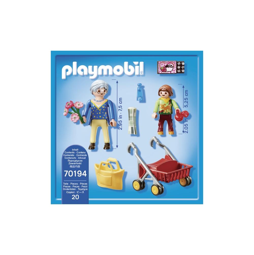 Bunica si fetita playmobil city life - 1
