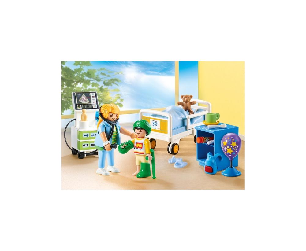Camera copiilor din spital playmobil city life - 2