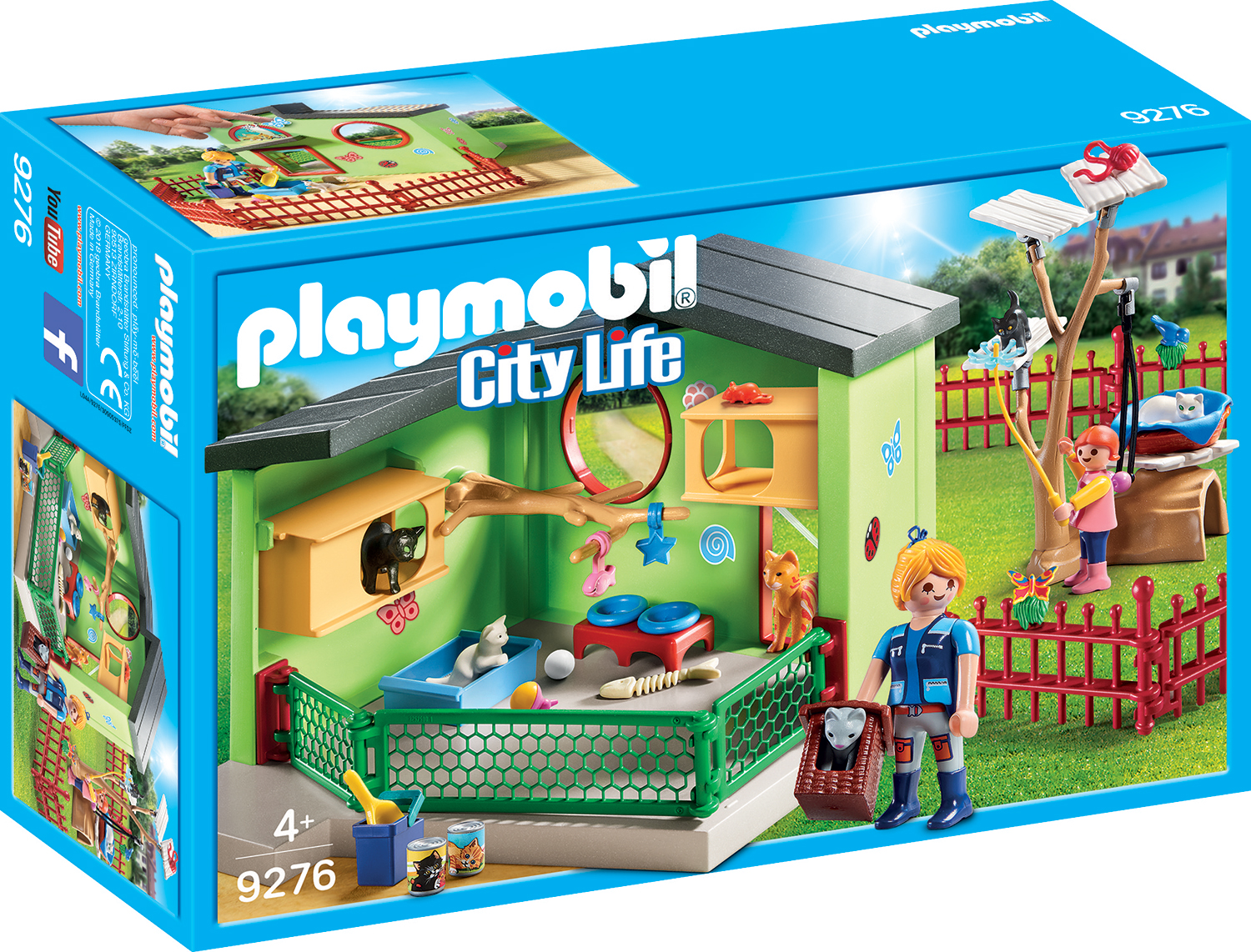 Crescatorie de pisicute playmobil city life