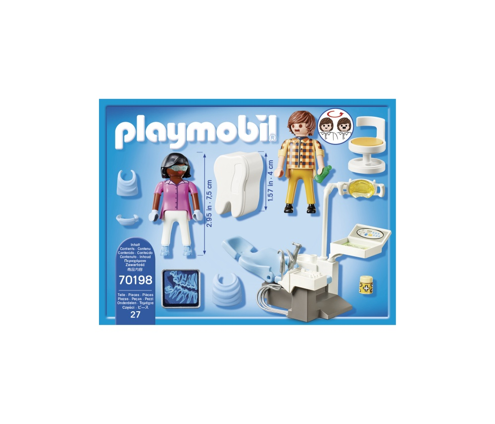Cabinet stomatologic playmobil city life - 2