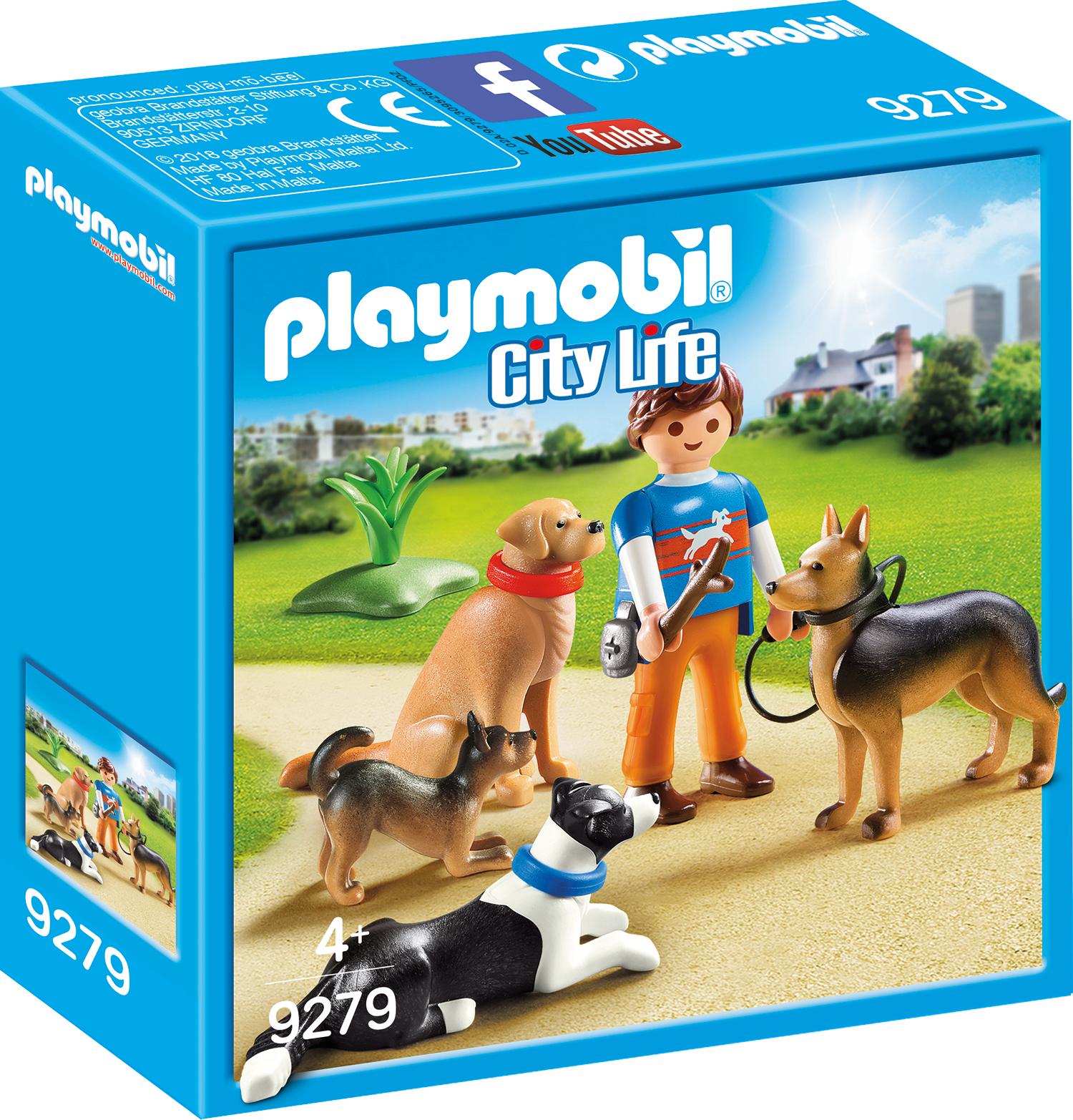 Dresor de caini playmobil city life
